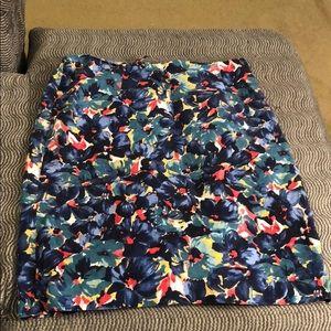 Talbots Woman Floral Skirt